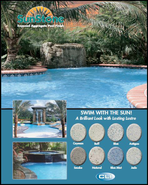 Plaster Interior Finishes Pools: CLI Sunstone and Hydrazzo ...