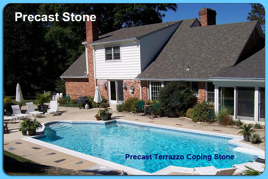 Swimming Pool Coping Styles : Pool coping styles watermark swimming services