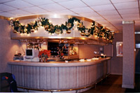 Holiday Decorating Commercial Interior